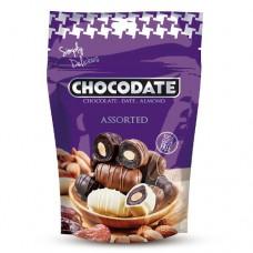 Финики в шоколаде - ассорти (100г)