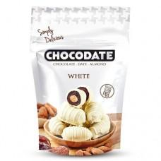 Финики в шоколаде - белый шоколад (100г)