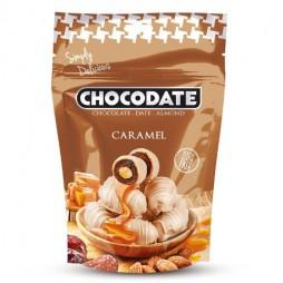 Финики в шоколаде - карамель (100г)