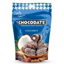Финики в шоколаде - кокос (100г)
