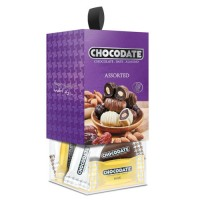 Финики в шоколаде - коробка ассорти (200г)