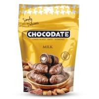 Финики в шоколаде - молочный шоколад (250г)