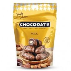 Финики в шоколаде - молочный шоколад (100г)
